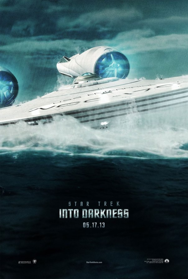 Star Trek Into Darkness fan poster